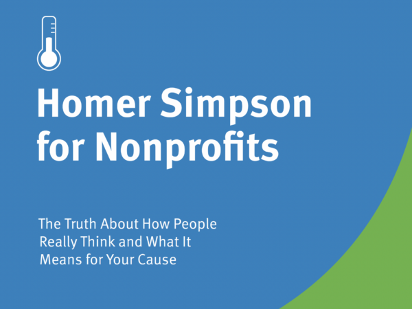 cover of Homer Simpson for Nonprofits