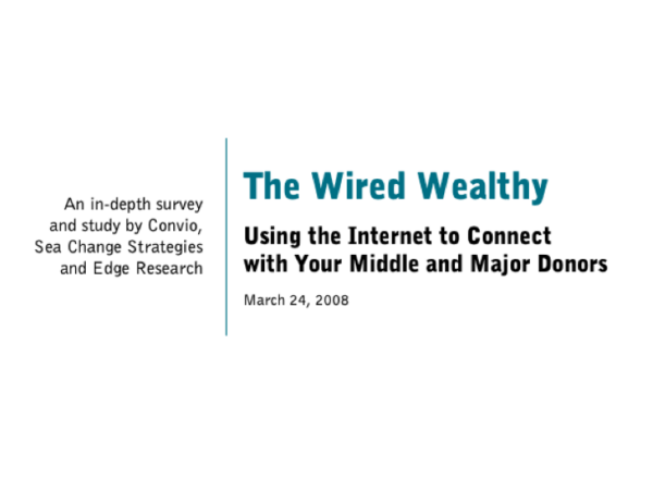 cover of The Wired Wealthy